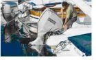 Unterwasserteilschutz Honda Außenbordmotor