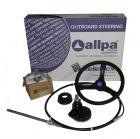 Teleflex Bootssteuerung Light Duty bis 40kw((50PS) versch. Längen