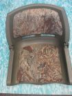 Steuerstuhl, Anglerstuhl jagdgrün/tarnfarben