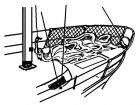 Relingsnetz 30 m
