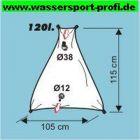 Wassertank flexibel dreieckig 120 l
