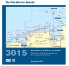 BSH Sportbootkartensatz 3015 Ostfriesische Inseln