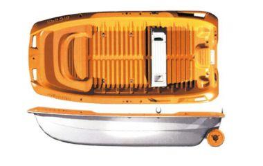 BIC Sportyak orange/weiß 2,45 m