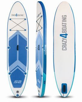 crazy4boating SUP Board Set aufblasbar