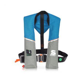 Secumar Ultra 170 Automatik Harness ocean/hellgrau/orange