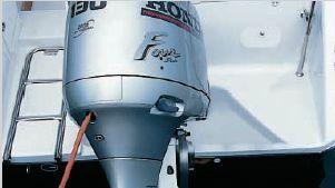 Spülanschluß für Honda BF75A - BF 135A