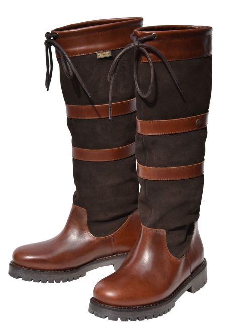 QUAYSIDE Banbury Boots - oak/chocolate  atmungsaktiv