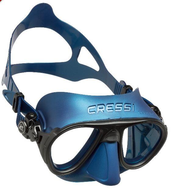 Taucherbrille Calibro blau Cressi Sub