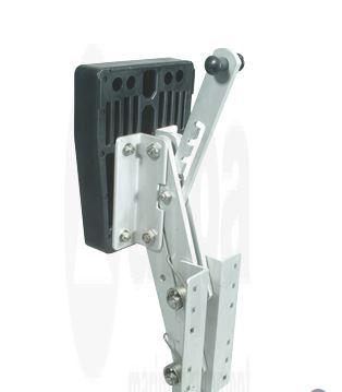 Motorhalterung Aluminium bis 35 PS