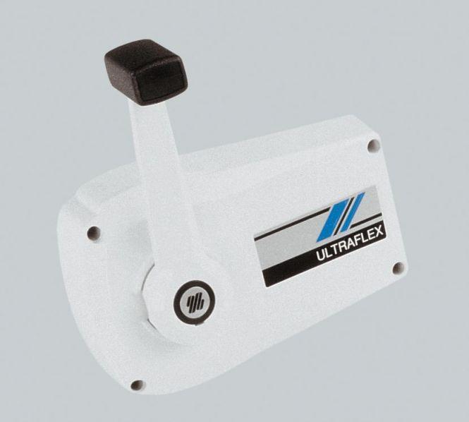 Einhebel Fernschaltbox Ultraflex weiß