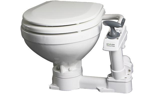 Johnson Bordtoilette AquaT mit manueller Wasserpumpe