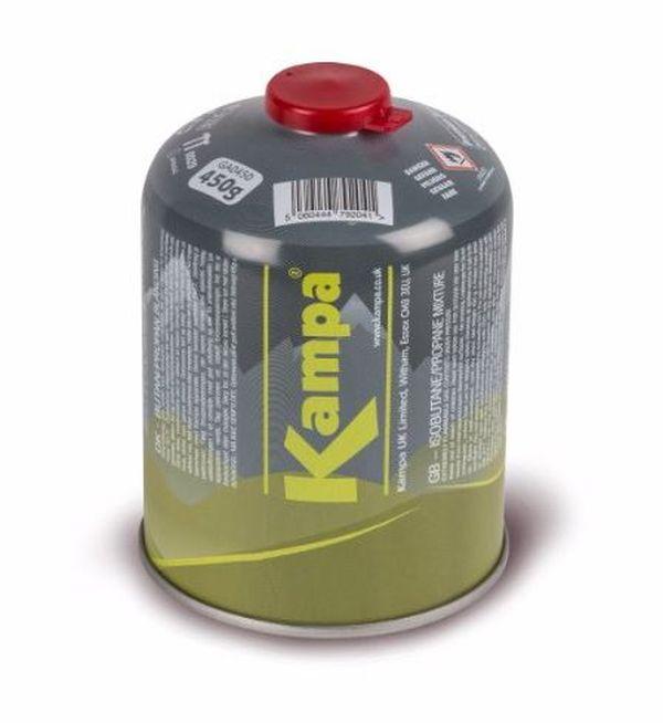 Gas Katusche Kampa mit Gewinde  450 g (19,88€/1000g)