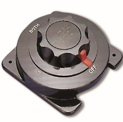 Batterie-Umschalter 230A/12V