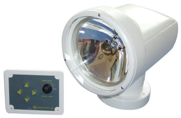 Suchscheinwerfer Night Eye schwenkbar Fernbedienung 12V