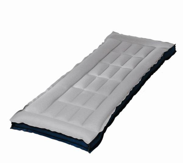 wassersport luftmatratze ohne kopfteil blau. Black Bedroom Furniture Sets. Home Design Ideas