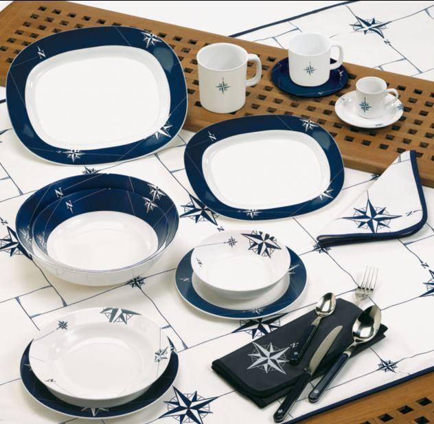 wassersport melamin geschirr northwind marine business online kaufen. Black Bedroom Furniture Sets. Home Design Ideas