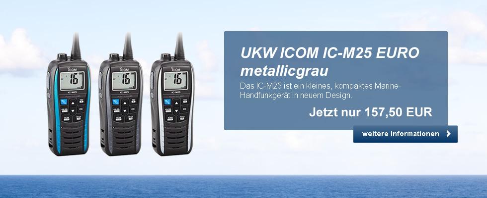 Start - UKW ICOM IC-M25